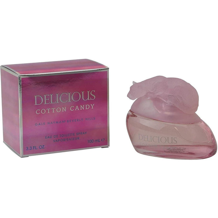 Delicious Cotton Candy by Gale Hayman for women EDT 3.3 / 3.4 oz New in Box