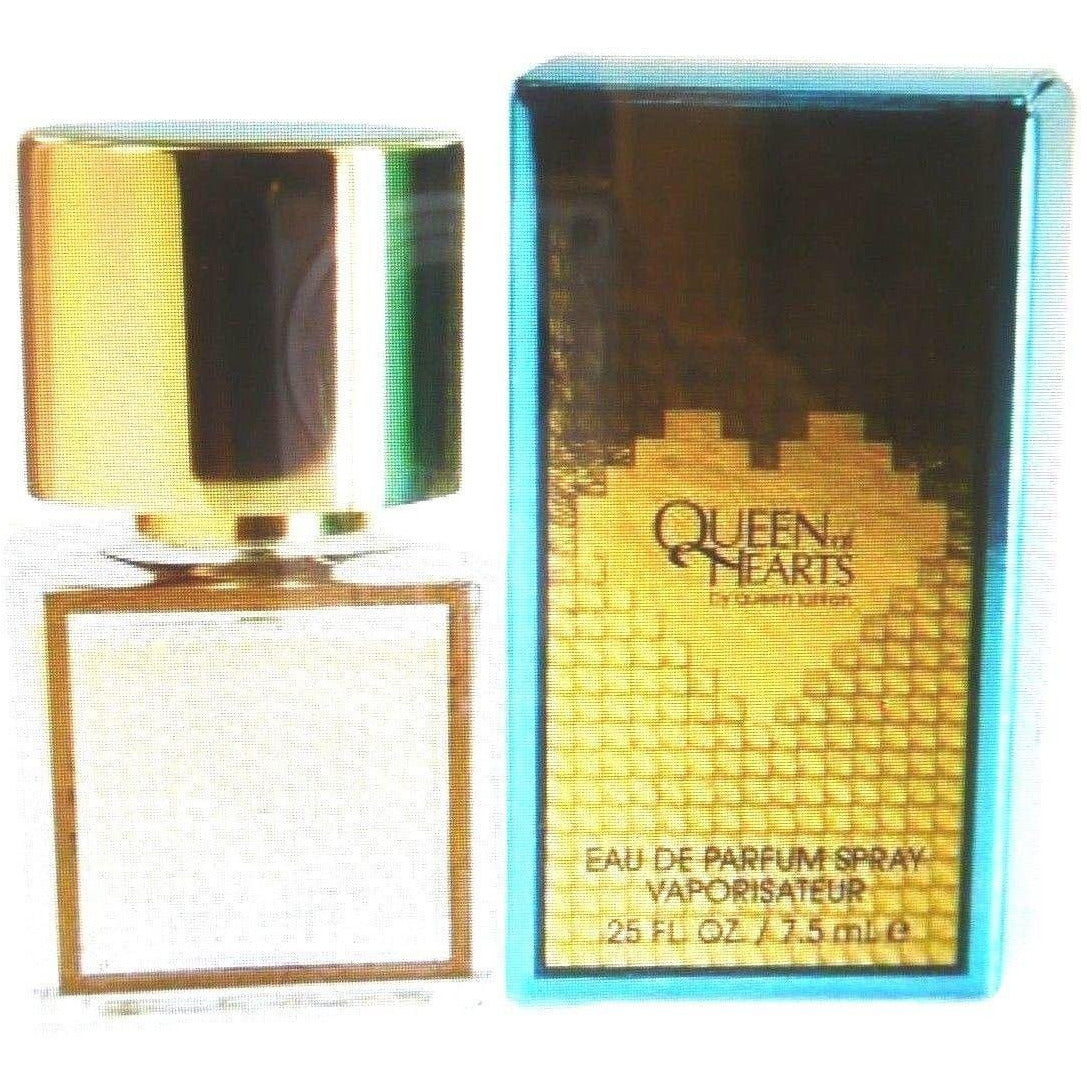 Queen of Hearts Queen Latifah women Perfume MINI .25 oz EDP NEW IN BOX travel size