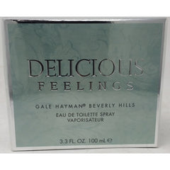 Delicious Feelings Gale Hayman Beverly Hills Women 3.3/3.4 oz edt NEW in BOX