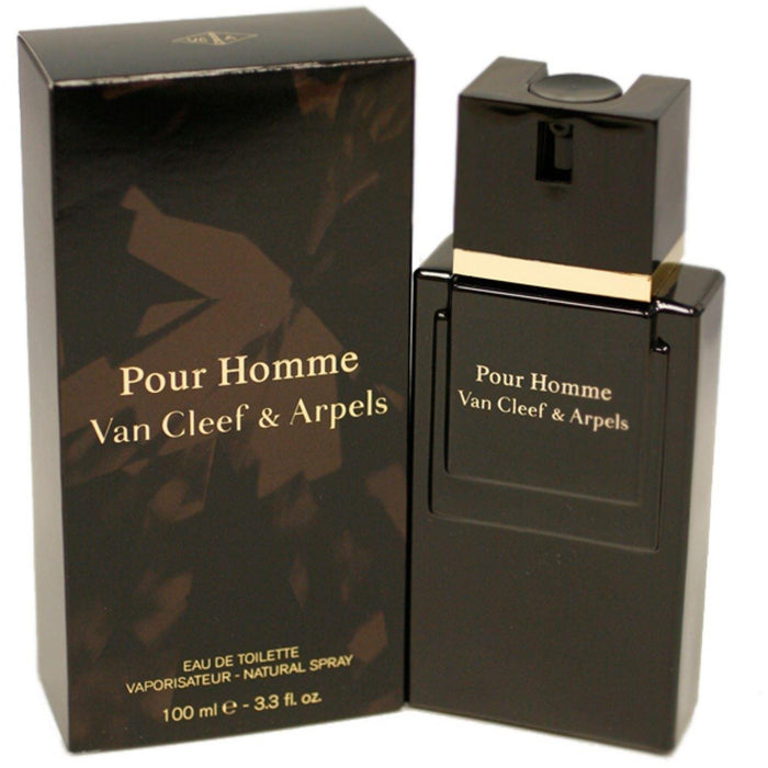 POUR HOMME by Van Cleef & Arpels 3.3 / 3.4 oz edt Cologne New in Box