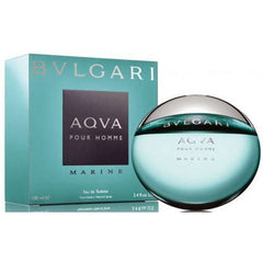 Bvlgari AQUA MARINE Cologne 3.4 oz for Men 3.3 oz New in Box AQVA