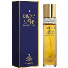 DIAMONDS AND SAPPHIRES by ELIZABETH TAYLOR 3.3 oz / 3.4 oz edt NEW in Box