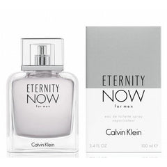 ETERNITY NOW for Men by CALVIN KLEIN 3.4 oz 3.3 edt New in box - 3.4 oz / 100 ml