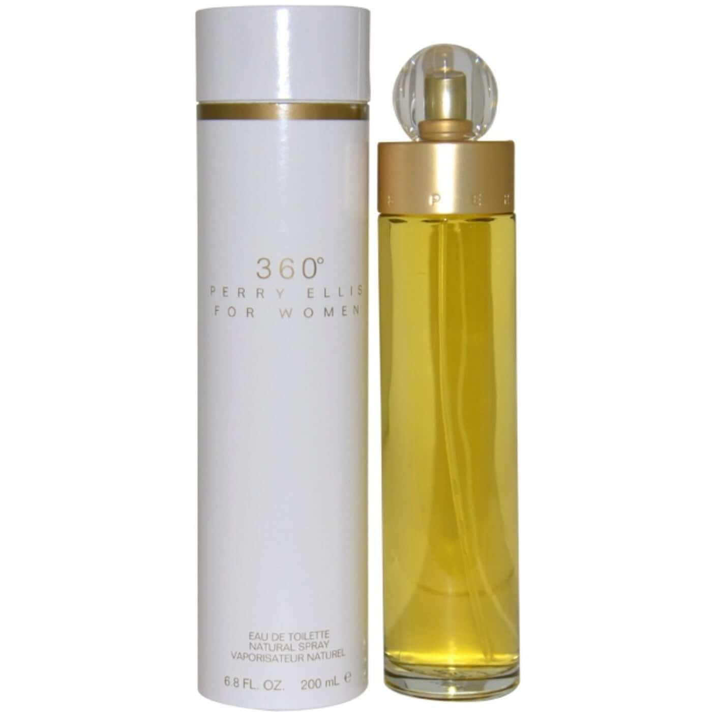 360 by Perry Ellis Perfume 6.7 oz for Women edt NEW IN BOX
