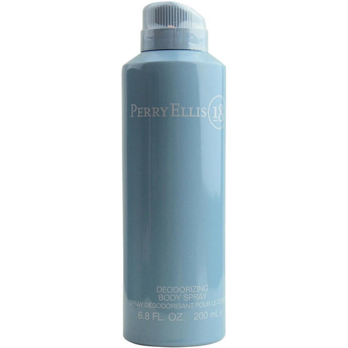 Perry 18 by Perry Ellis Deodorizing body spray for men 6.8 oz New