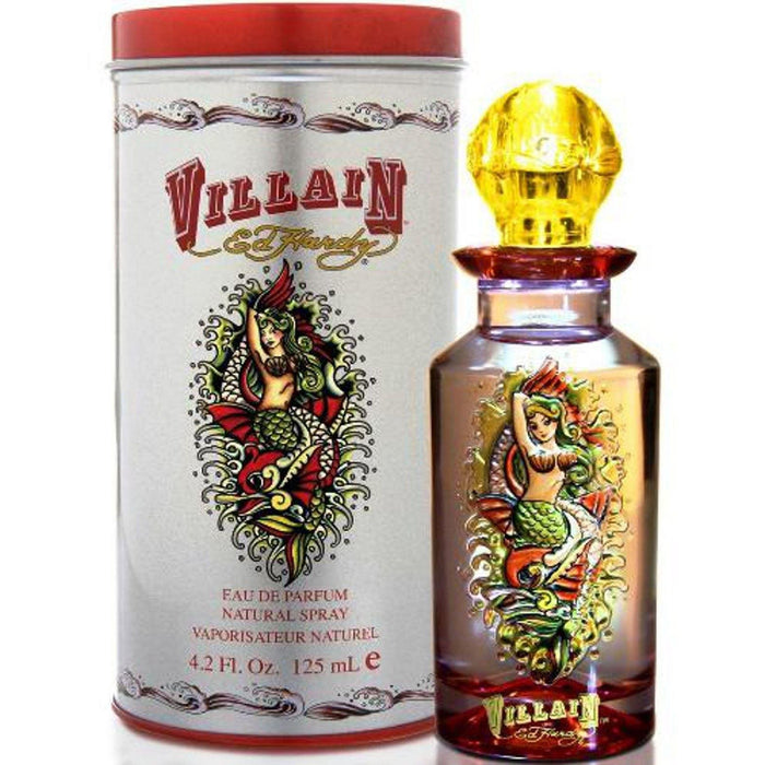 Ed Hardy Villain by Christian Audigier 4.2 oz EDP Spray for Women New in Box