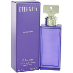 ETERNITY PURPLE ORCHID Calvin Klein women perfume edp 3.4 oz 3.3  NEW IN BOX