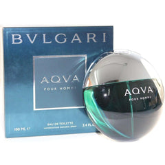 Bvlgari AQVA POUR HOMME Cologne for Men 3.4 oz / 3.3 oz New in Box AQUA