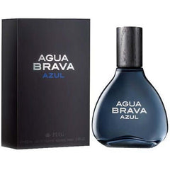 Agua Brava Azul By Antonio Puig for Men Edt Spray 3.4 Oz 3.3 New in Box - 3.4 oz / 100 ml