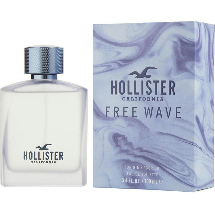 FREE WAVE By Hollister California cologne for him EDT 3.3 / 3.4 oz New In Box