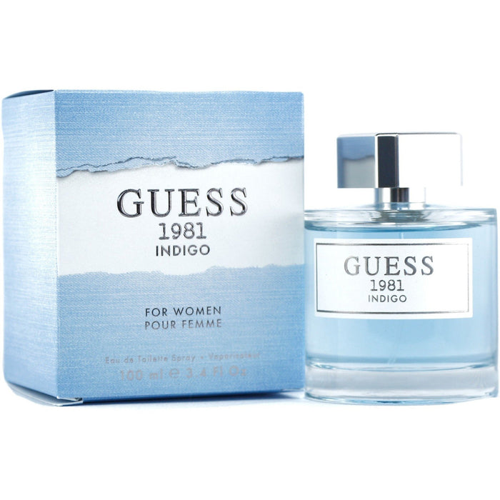 Guess 1981 Indigo by Guess for women EDT 3.3 / 3.4 oz New in Box