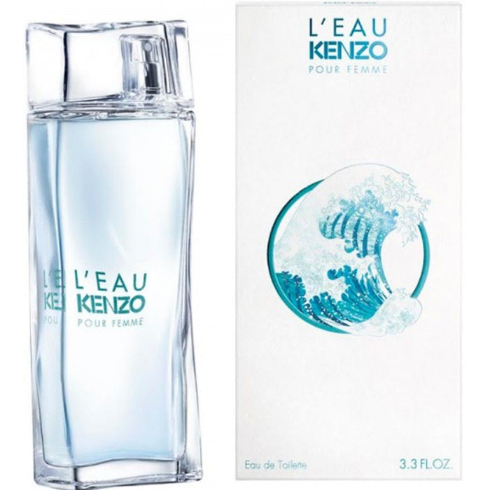 L'EAU KENZO POUR FEMME By Kenzo EDT 3.3 / 3.4 oz New in Box