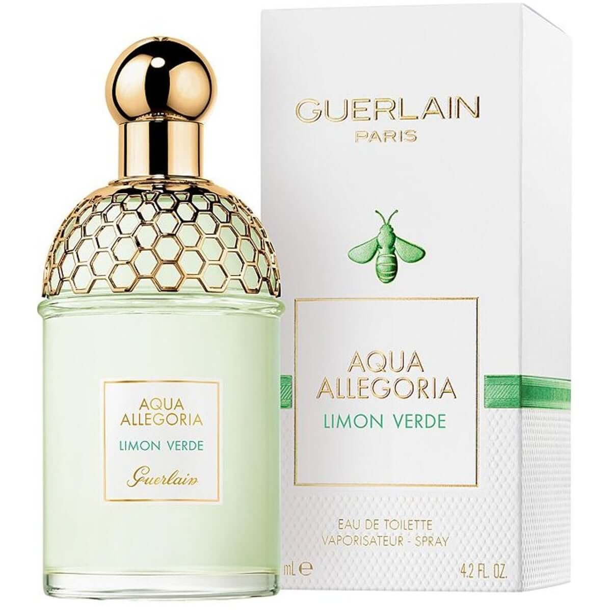 Aqua Allegoria Limon Verde by Guerlain for her EDT 4.2 oz New in Box