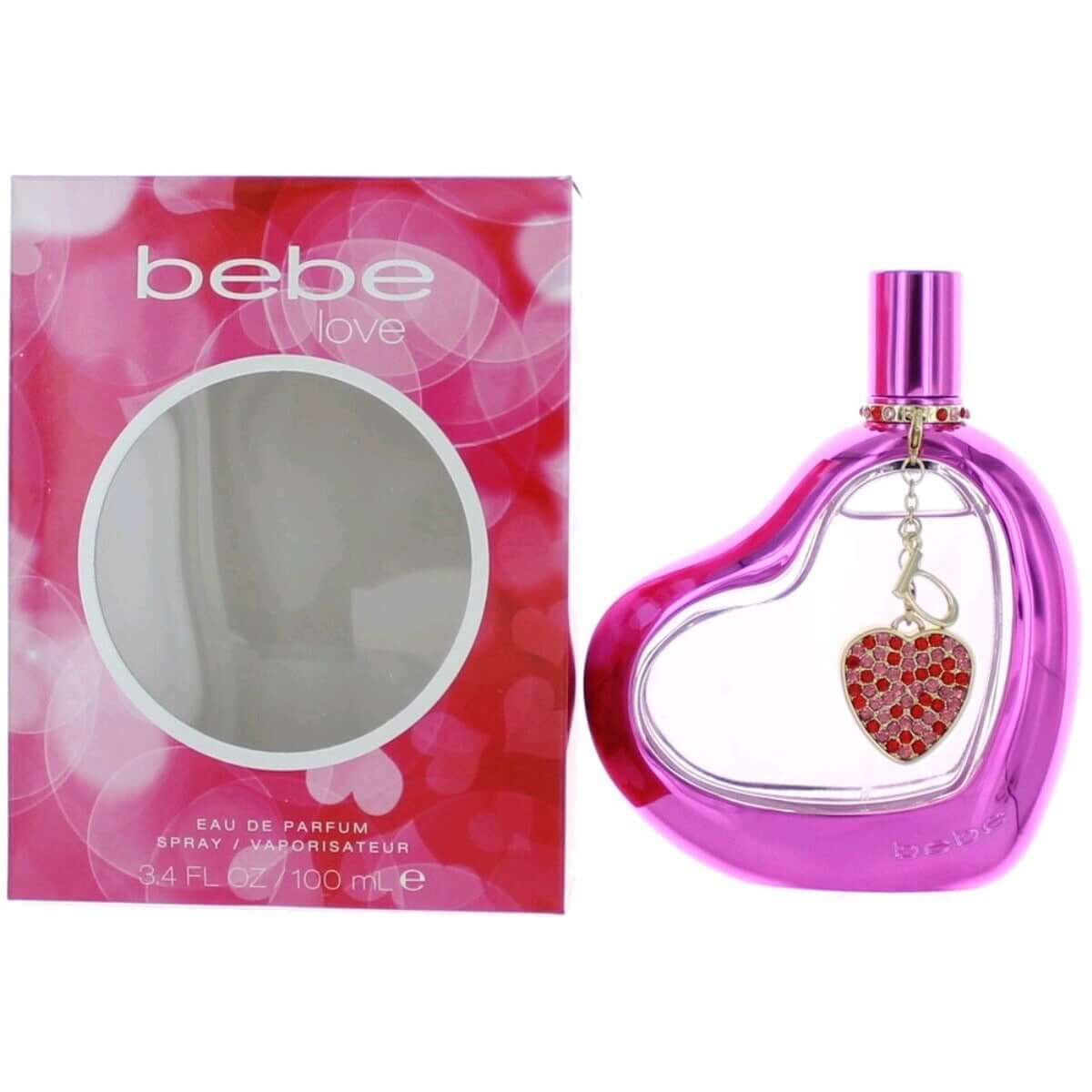 Bebe Love by Bebe perfume for women EDP 3.3 / 3.4 oz New in Box