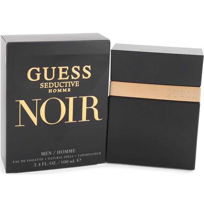 GUESS SEDUCTIVE HOMME NOIR by Guess cologne EDT 3.3 / 3.4 New in Box