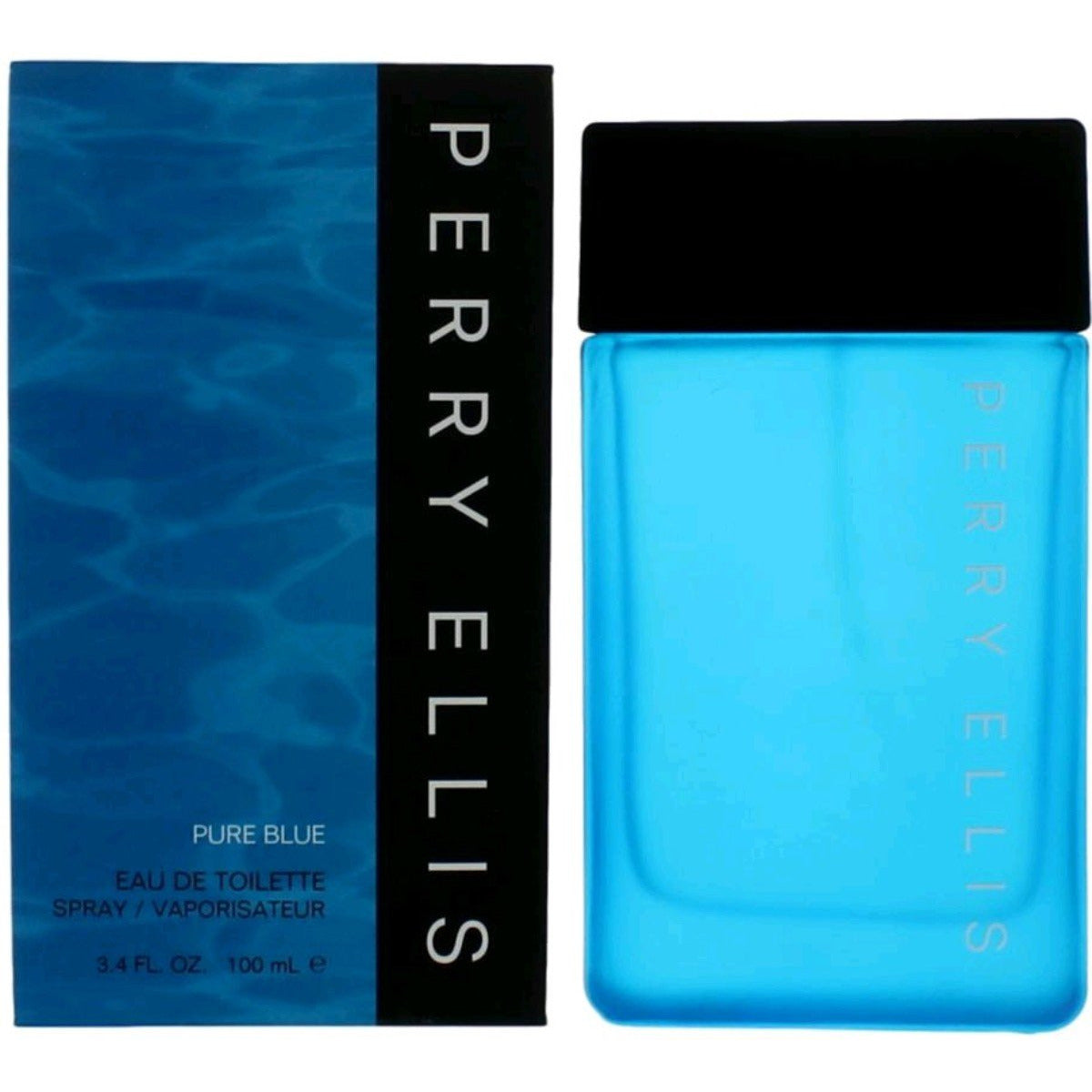 Pure Blue By perry Ellis cologne for men EDT 3.3 / 3.4 oz New in Box