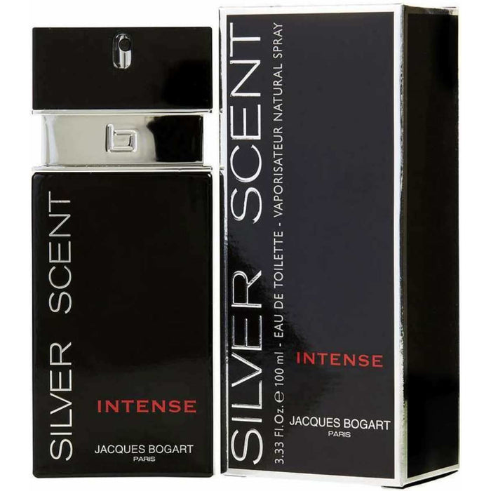 Silver Scent Intense by Jacques Bogart cologne for men EDT 3.3 / 3.4 oz New in Box