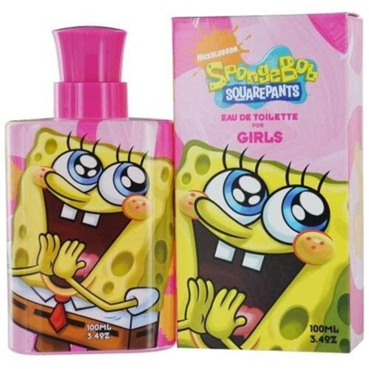 Spongebob Squarepants by Nickelodeon for girls EDT 3.3 / 3.4 oz New in Box