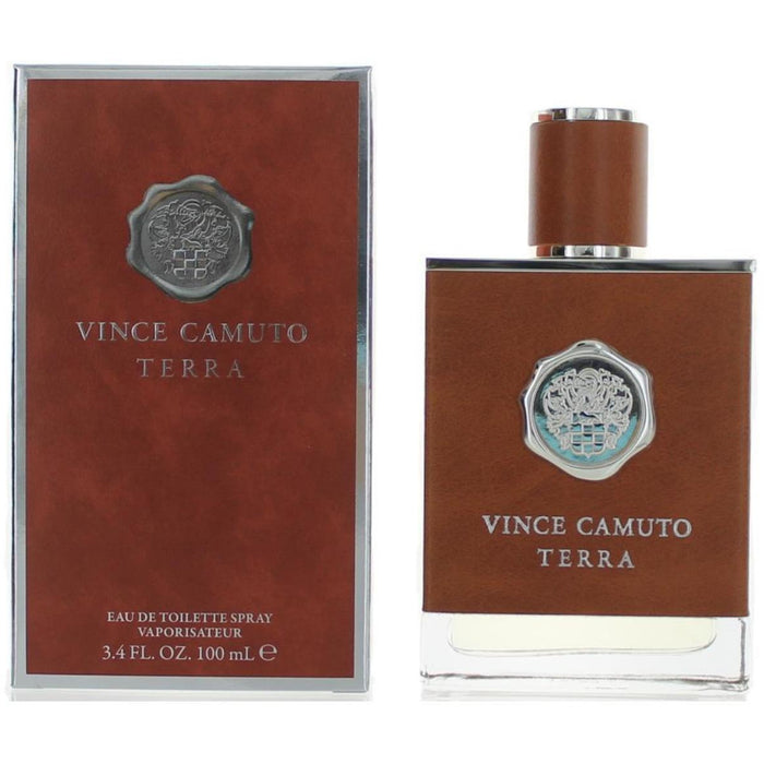 TERRA by Vince Camuto cologne men EDT 3.3 / 3.4 oz New in Box
