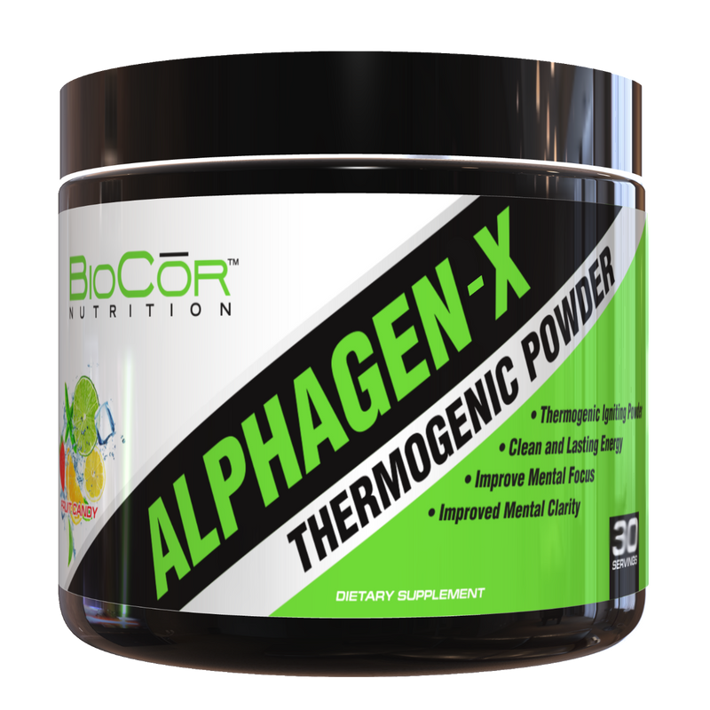 ALPHAGEN-X - Thermogenic Powder