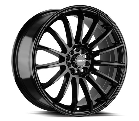 "18"" VERSUS VS162 GLOSS BLACK 18X7.5"