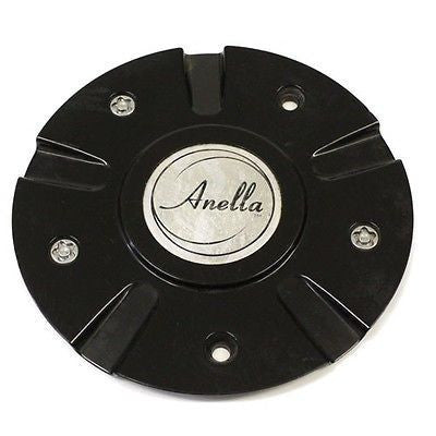 ANELLA WHEEL STARGATE BLACK CENTER CAP 31157 USED