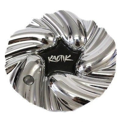 KAOTIK WHEEL CENTER CAP # 10724 CHROME