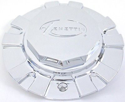 ZENETTI WHEEL CAP CHROME FINISH  #CZ0002 NEW