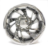"15"" Ultra Turbine 155 chrome wheel 15x10 New"