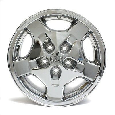 "16"" INFINITI I30 1998 1999 WHEEL CHROME FACTORY OEM 73650 SET OF 4 16X6.5"