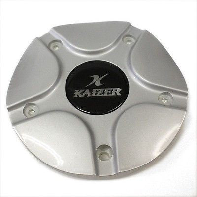 KAIZER WHEEL SILVER CENTER CAP KA-5 NEW