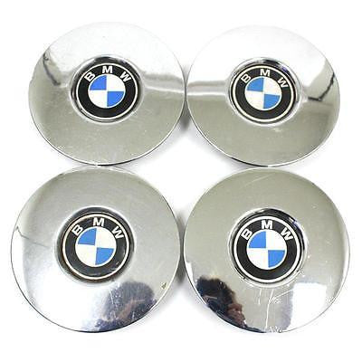 BMW WHEEL CENTER CAPS CHROME (4) 899059