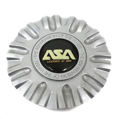 ASA BBS WHEEL CENTER CAP SILVER LS1 8B240C 8B239S