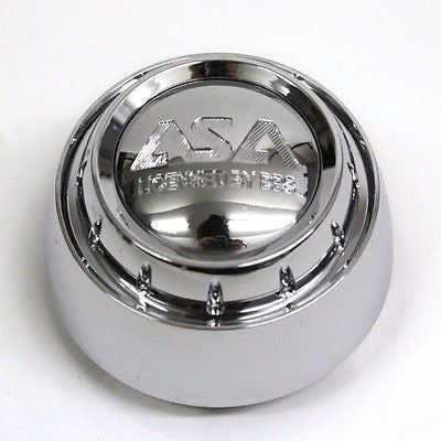 ASA WHEEL CENTER CAP LS5 LS8 CHROME 8B625 NEW