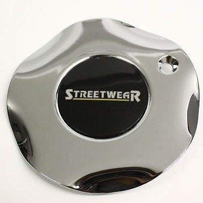 STREETWEAR EUROSPOKE # 97 SUPERIOR ICW WHEEL CENTER CAP CHROME