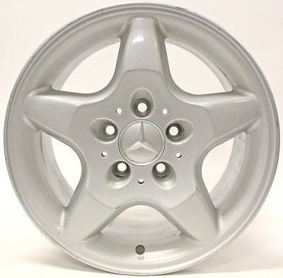 "16"" MERCEDES BENZ ML320 ML430 1998 1999 2000 2001 WHEEL OEM 65184 SILVER"
