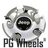 JEEP CENTER CAP CHROME NEW