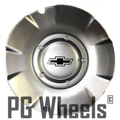 "20"" Wheels Chevy SS Silverado Silver Center Cap # WCA-205S"