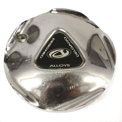 DELGADO DESIGNED ALLOYS WHEELS CENTER CAP CHROME