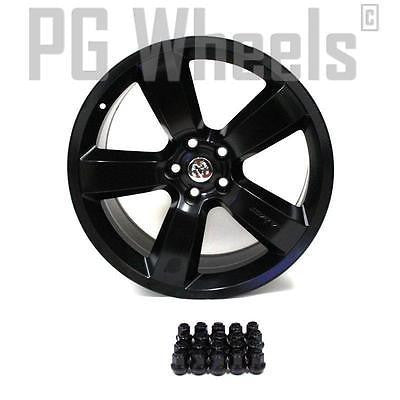 "20"" DODGE CHARGER SRT 2006 2007 2008 2009 2010 WHEELS OEM 2262 BLACK SET OF (4)"
