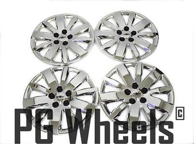 "16"" WHEELS CHEVY CRUZE 2011 CHROME HUB CAPS NEW SET (4)"