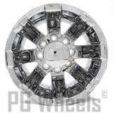 "16"" FORD F350 DUALLY CHROME NEEPER TITAN REAR WHEEL N164"
