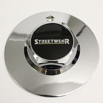 STREETWEAR SUPERIOR ICW WHEEL CENTER CAP CHROME # 899048