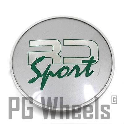 RD SPORT WHEEL CENTER CAP SILVER
