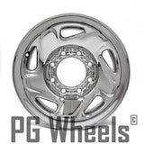 "16"" DODGE TRUCK VAN 94 95 96 97 98 99 00 01 02 03  WHEEL STEEL CHROME OEM 2042"