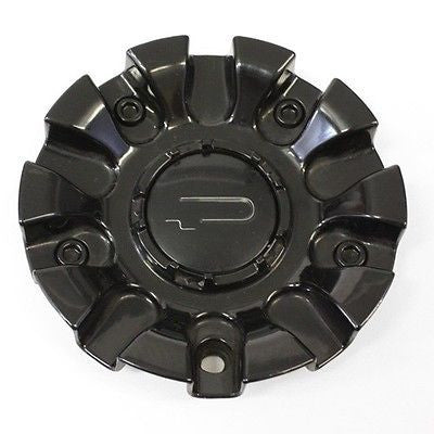 "20"" CSQUARE WHEEL CENTER CAP C2 BLACK # TJ05182 # 520"