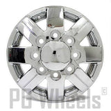 "16"" FORD DUALLY F350 2000 2001 2002 CHROME NEEPER TITAN FRONT WHEEL N164 16x6"