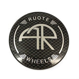RUOTE AR WHEELS CENTER CAP CARBON FIBER