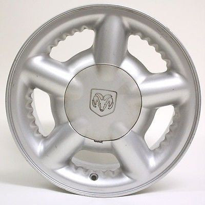 "15"" DODGE DAKOTA DURANGO 1997 1998 1999 2000 WHEEL OEM 2081 SILVER"