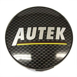 AUTEK WHEEL CENTER CAP BLACK CARBON FIBER NEW